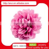 China accessories ladies sexy passional pink rose fancy hair pins