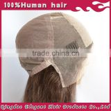 Wholesale unprocessed cheap human hair wigs silk top brazilian human hair wigs for black women