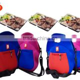 Multifunction thermal package picnic lunch bag insulated neoprene bento lunch box cooler bag