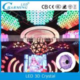 wholesale product sdm5050 modern led 3d crystal chandelier light                                                                         Quality Choice