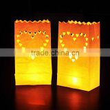 Tea light Holder Luminaria Paper Lantern Candle Bag For Christmas Party Wedding Decoration Products