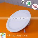 4/8/12/16/20w led panel light die cast aluminum housing round lighting 2 year warranty SSP001-4W