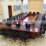 High-end big size 20 seats Modern Wooden Conference Meeting for government or company table (SZ-MTA086)