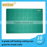 Weldon black green 3 Layer double sides printing rotary fabric cutter