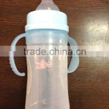 Custom silicone product food grade silicone straw round hole nipple silicone baby feeding bottle silicone with sipper
