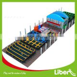China Factory outdoor&indoor large trampoline park for sale,trampoline for amusement park LE.T3.406.132.03