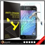 Keno Brand High Quality 2.5D Tempered Glass for Samsung Galaxy J1 Ace/ HD Screen Protector for Samsung J1 Ace Tempered Glass