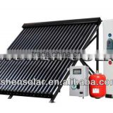 high efficiency domestic 200L galvanized steel Solar Water Heating system (with heat pipe vacuum tube)