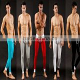 Sexy men sleepwear long lounge pants