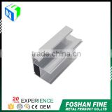 Wholesale alibaba bright dip anodized silver aluminium profile factory