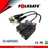 Built-in TVS for surge protection HD video balun for CCTV transmission system CVI TVI AHD
