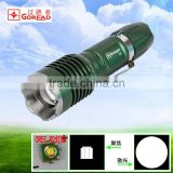 Goread C4 rechargeable zoom aluminum R2 LED torch