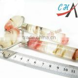 semi precious healing quartz crystals wholesale massage wand