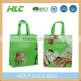Custom Promotional Gift Foldable PP Printed Garment Cheap Drawstring Tote Fabric Laminated recycle non woven bag                                                                                                         Supplier's Choice