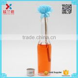Glass Material Beverage unique shaped 40ml glass wine bottles                                                                                                         Supplier's Choice