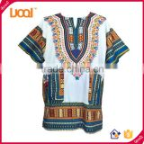 Traditional African Print Dashiki Shirt African Top Clothing Kaftan Wholesale China                                                                         Quality Choice