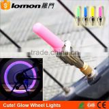 Fluorescent Gas Nozzle Bicycle Safetyn Light Led Bike Wheel Light for bicycle