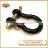 3/4'' Forged adjustable chain Shackle With Cotter Pin