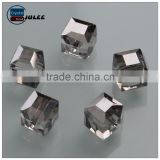 Hot sale Yiwu factory Square Shape Crystal Glass Cube Beads