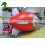 Hot Giant Inflatable Air Blimp , Inflatable Airship , Inflatable Helium Blimp for Advertising to Sale