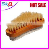 wholesale Good quality wooden nail bath back scrubber body brushes
