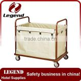 Hotel housekeeping maid carts equipment bag trolley