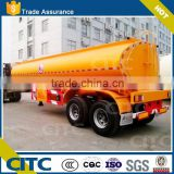 10000 LT fuel (40 000 Lt-50000Lt optional )oil tank truck dimension semi trailer for fuel transportation