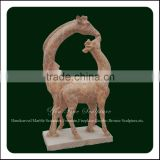 Promotion Marble Life Size Deer Statues