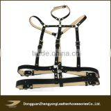 new design men body harness, sexy leather harness