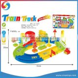 DD0103667 hot sale battery operated bo toys train sets children cartoon railway toys train set toy
