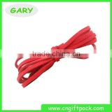 Red Flat Leather Faux Suede Cord 3mm Trim/Craft/Sewing/Bow/Ribbon