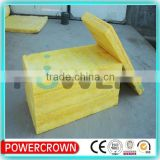 high quality high density thermal insulation glass wool board for wall made in china