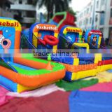 4 in 1 Carnival Game Inflatable Sports Game for Children