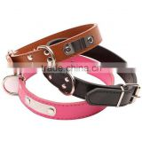 Pet Collar PU Leather Dog Collar For Small Dogs Cat Collar Cats Collars Brown Black S M L