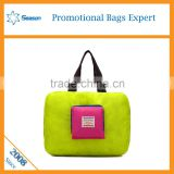 Wholesale foldable polyester shopping bag storage bag tote bag                                                                                                         Supplier's Choice