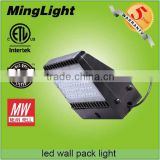 IP65 Outdoor 80w Led Wall Pack Light for Hotels, Garages,Warehouses,Hospitals,Public areas luminaires