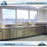 Chemical clean room S.S lab bench Stainless Steel laboratory furniture                                                                         Quality Choice