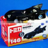 Takara Tomy Dream Tomica 146 Batman Batmobile Diecast DC Universe aloy Car Model Toy