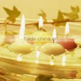 2014 top sale floating candle clear glass christmas balls wholesale