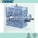 B series Helical Bevel Gear Motor Power Steering Gear Box