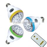 JA-219 rechargeable led emergency lamp with remote control