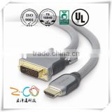 Certified by ISO9001-2008 dvi to bnc cable