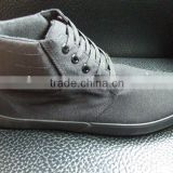2011 Collection Black vulcanized shoes men's casual shoe all sizes Manufacturer in China Grey Simple Design