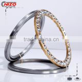 made in china oem Machined Brass Cage P0 P6 P5 P4 P2 51100 51200 51300 51400 thrust ball bearing