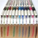 Menow 12 Colors Makeup Set Cosmetic Professional Water Proof Long-Lasting Best Eyeliner / LipLiner Pencil