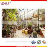 roof garden greenhouse sunlight shade roof roofing top dome polycarbonate sheed PC sheet