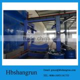 filament winding machines for composite pipes for transport of water, gas, oil and sewage