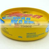 Car Care Product Car Polish Wax Round Tin Can for Packaging