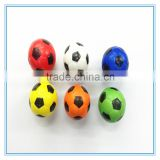hot selling 6.3cmfull printing stress soccer ball/360 degree full printing stress ball/customed printed cheap PU toy stress ball