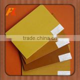 Laminated epoxy fiberglass sheet for chemical machine parts